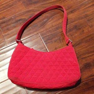 Red Vera Bradley bag